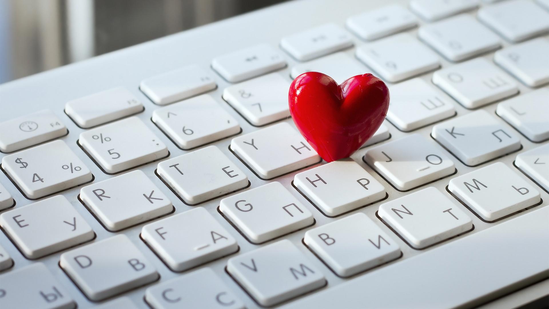 dragoste pe internet
